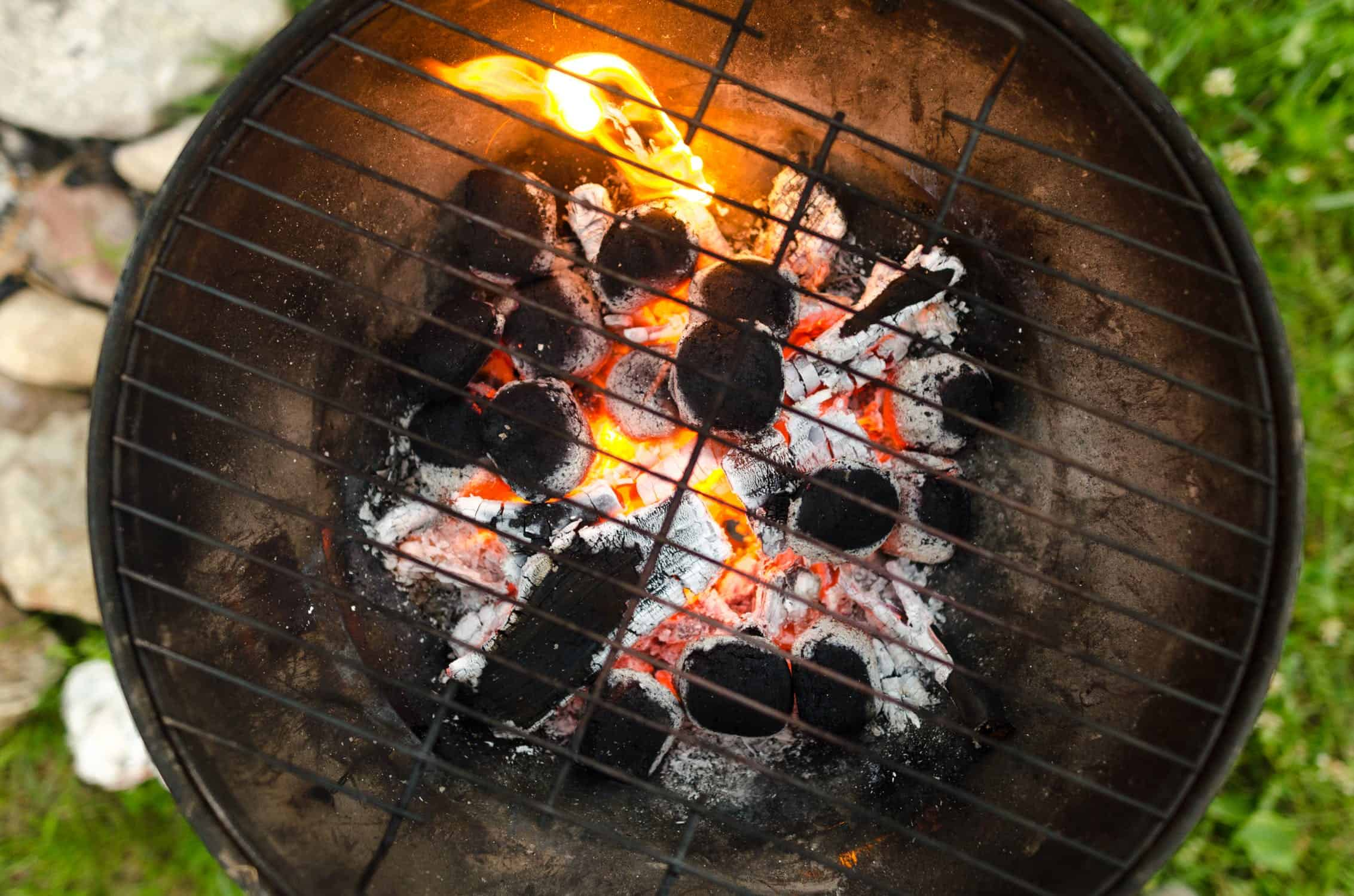 a charcoal weber grill alternative