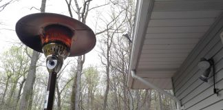 this person clearly only needs one patio heater!