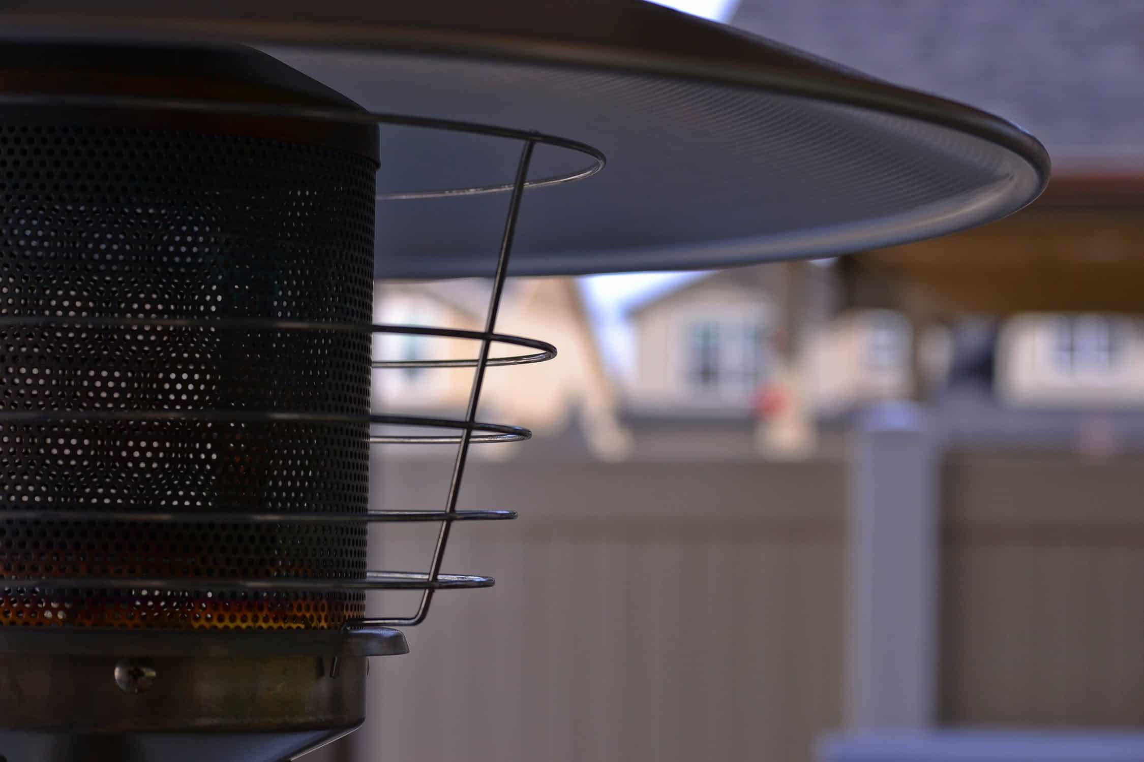 keep your patio heater from tipping over