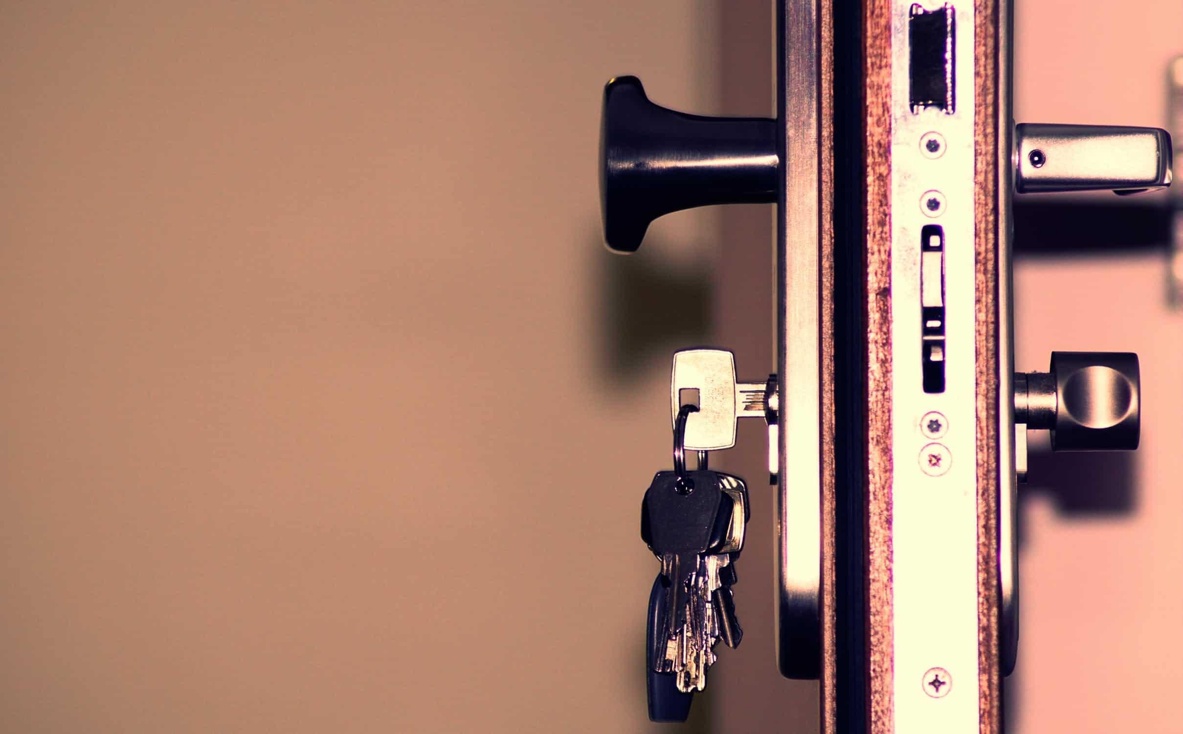 patio door locks, how do they work?