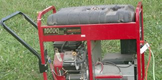gas generators are useful but can be dangerous