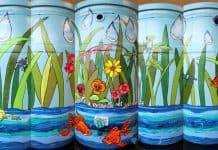 personalized rain barrels