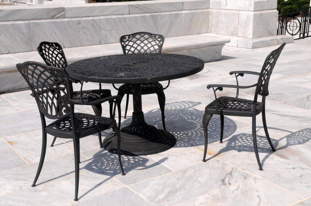 Wrought Iron Patio Furniture, Used Rod Iron Outdoor Furniture