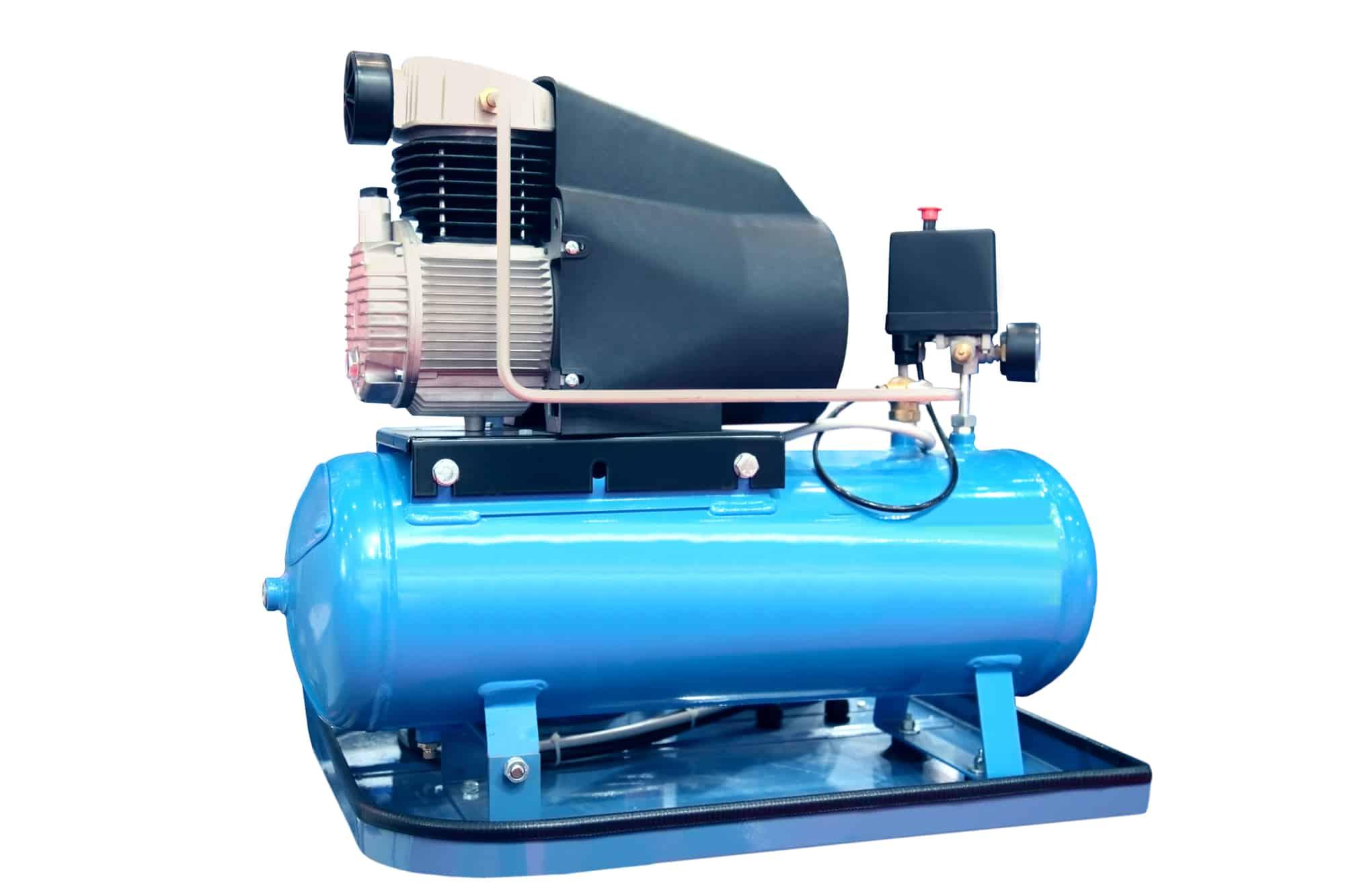 blue air compressor